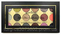 Палитра теней Glamierre Solar Glow Eyeshadow Palette (18 цветов)
