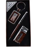 Подарочный набор брелок,ручка,заж