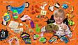 """Подарочный набор для творчества """"Dino WOW Box"""" ОРАНЖЕВЫЙ арт. DWB-01-01, фото 3"""
