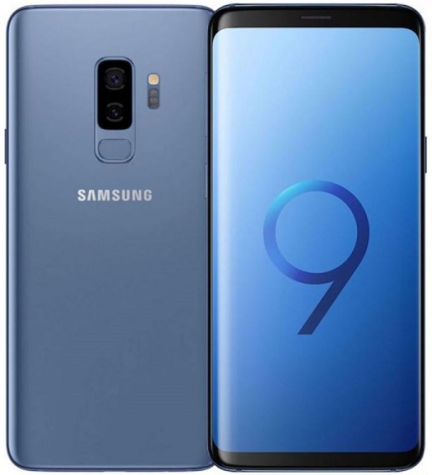Смартфон Samsung Galaxy S9+ Duos G965FD 128Gb Blue
