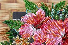 Набор для вышивания бисером  Абрис Арт Квіти Танзанії AMB-026