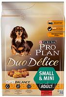 Pro Plan (Про План) Duo Delice для собак малых пород с говядиной  2,5кг
