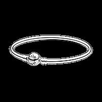 Серебряный браслет-бэнгл Pandora Moments 590713