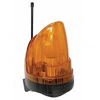 Сигнальная лампа для откатных, сдвижных, распашных ворот со встроенной антенной, Дорхан
