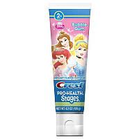 Дитяча зубна паста Crest KIDS DISNEYS PRINCESS BUBBLEGUM, 119 Г