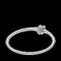 Серебряный браслет-бэнгл Pandora Moments Фейерверк 597763CZ, фото 1