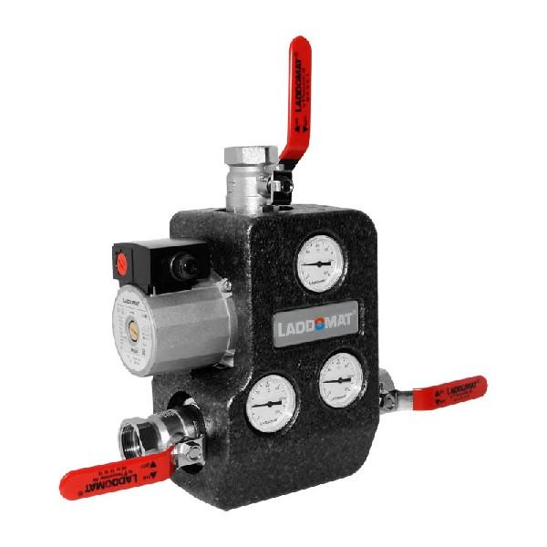 Клапан з насосом (Ладдомат) підмішуючих вузол для котла потужністю до 100 кВт LADDOMAT 21-100