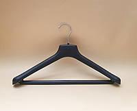 Вішак- плечики для костюмів та трикотажу з перекладиною