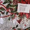Скатерть лен кухонная Новый Год 150*120см