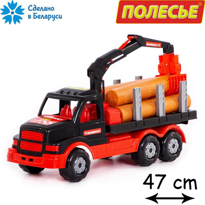 Игрушечный грузовик лесовоз, Полесье-Маммоет