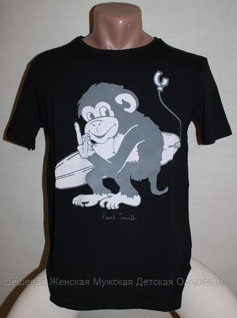 Брендовая мужская футболка турция PAUL SMITH