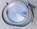 Кламповое соединение с заглушкой, кламп DN204, нержавеющее Aisi 304, фото 3