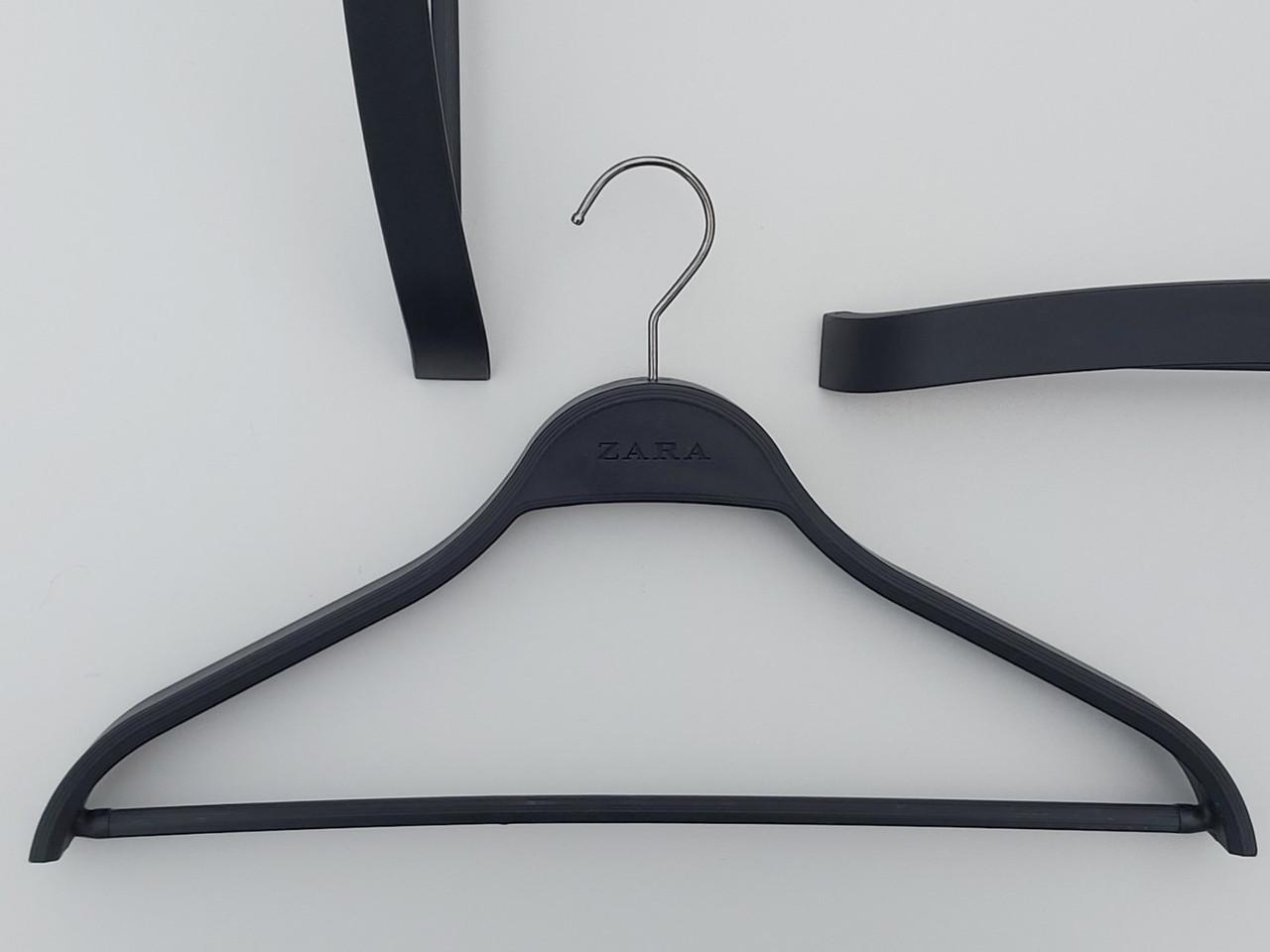 Плечики пластмассовые   ZSH41  Zara  черного цвета, длина 41 см