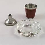 Подарочный Набор 5 в 1 Jack Daniel's ( фляга, лейка, рюмка, пепельница и кусачки для ногтей ), фото 3