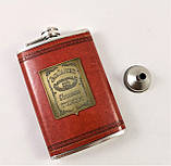 Подарочный Набор 5 в 1 Jack Daniel's ( фляга, лейка, рюмка, пепельница и кусачки для ногтей ), фото 4