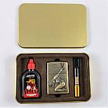 Подарочный Набор 3 в 1 ( Зажигалка ZIPPO Бензиновая, Мундштук  и Бензин для заправки ), фото 5