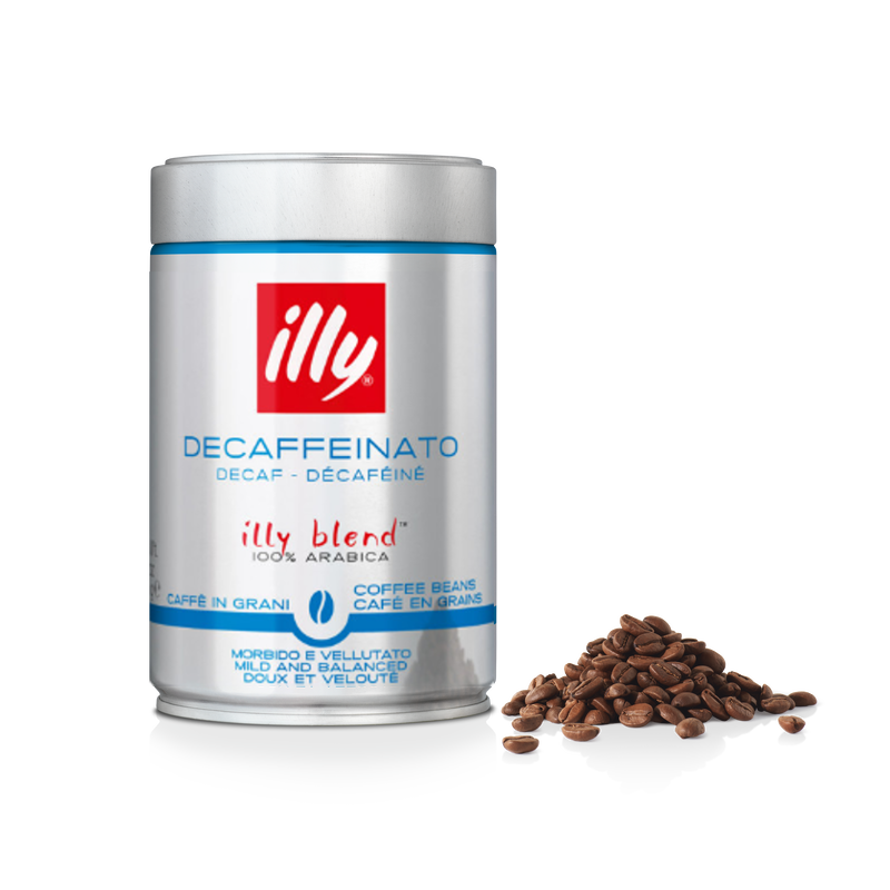 Кофе в зернах Illy Decafeine без кофеина 250 г