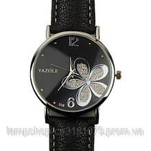 Yazole Flower Black-Silver