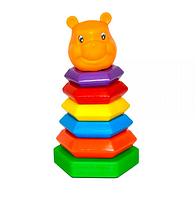 Игрушка развивающая пирамидка.Игрушка для малышей.