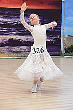 Плаття для стандартної програми для бальних танців (зріст 140)