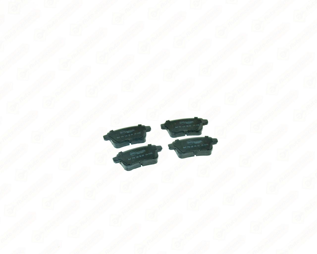 Дискові гальмівні колодки (задні) на Renault Kangoo II 2008-> AutoTechteile - 5040182
