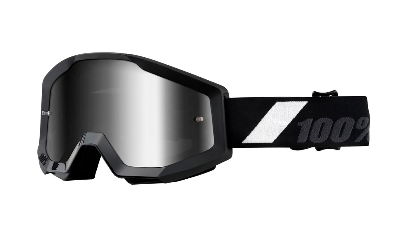 Кроссовые мотоочки 100 % STRATA Goggle Goliath - Mirror Silver Lens