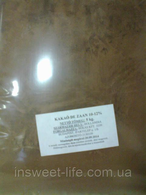 Какао DE ZAAN D11S алкализированный10-12% 5 кг/упаковка