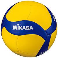 Мяч волейбольный Mikasa V350W Желто-синий (4907225861071)