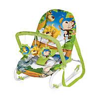Детский шезлонг Bertoni Top Relax XL Green Jungle
