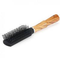 Расчёска для волос DAGG с деревянной ручкой
