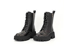 Демисезонные женские ботинки Balenciaga Tractor. ТОП Реплика ААА класса., фото 3