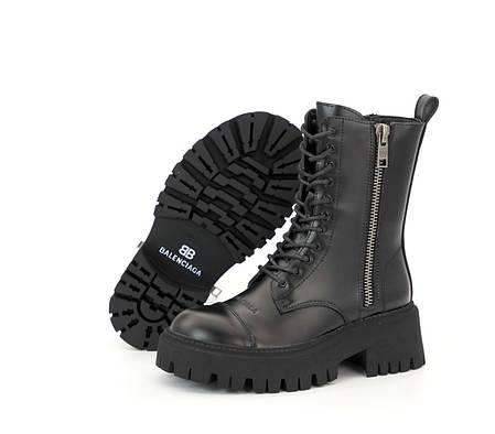 Демисезонные женские ботинки Balenciaga Tractor. ТОП Реплика ААА класса., фото 2
