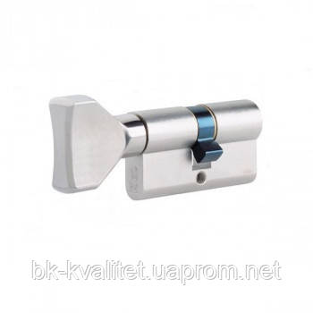 Цилиндр ISEO R7 90 (45х45) ключ/тумблер, никель