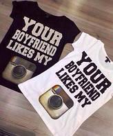 Парные футболки , фото 1