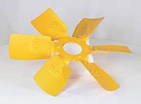 Вентилятор 245-1308040-А (6 лопатей металевий) (пр-во ММЗ)