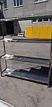 Стелаж виробничий 2200х500х1800 4 полиці з 201 нержавіючої сталі, фото 10