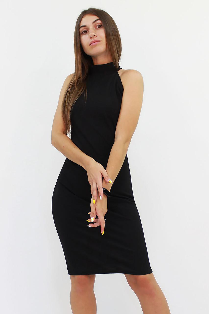 Коктейльное женское платье Golden, черный