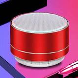 Портативная Bluetooth колонка A10 Красный, фото 2