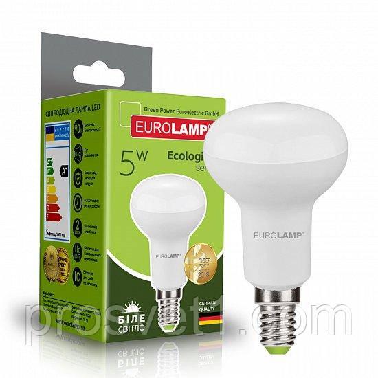 Светодиодная лампа EUROLAMP LED R39 5W E14 4000K 220V