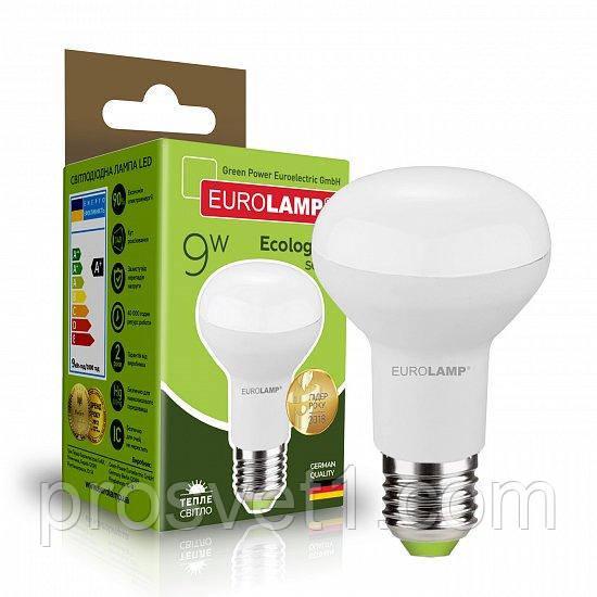 Светодиодная лампа EUROLAMP LED R63 9W E27 3000K 220V