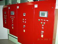 Автоматизация, щит (шкаф) автоматики управления котла и котельной