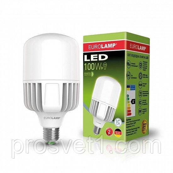 Високопотужна світлодіодна лампа EUROLAMP 100W E40 6500K 220V