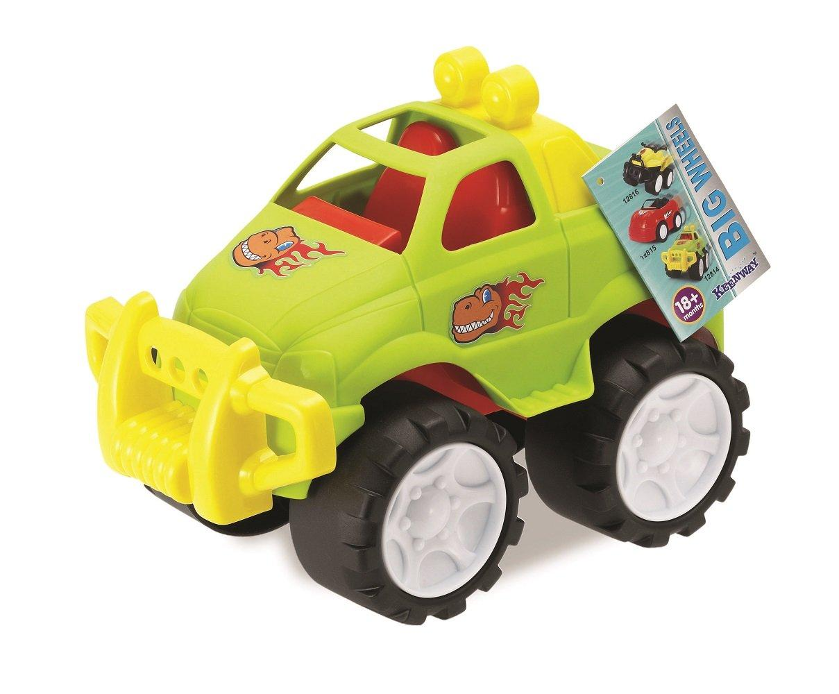 Машинка Воротилы с большими колёсами Keenway