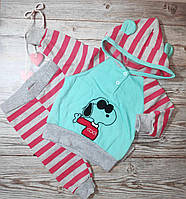 Костюм кофточка штанишки для грудничков 68 размер