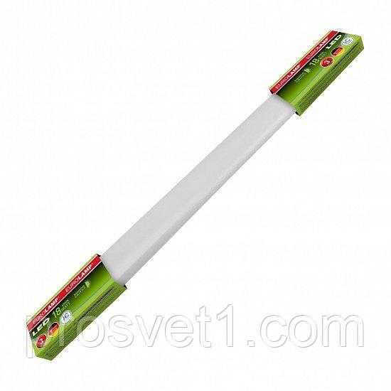 Світлодіодний світильник лінійний EUROLAMP LED IP65 18W 6500K (0.6 m) SLIM