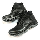 Мужские кожаные зимние ботинки  Falkon р.40,43,44,45, фото 2