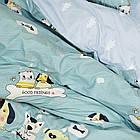 Комплект постельного белья подростковый сатин Viluta полуторный комплект, фото 2