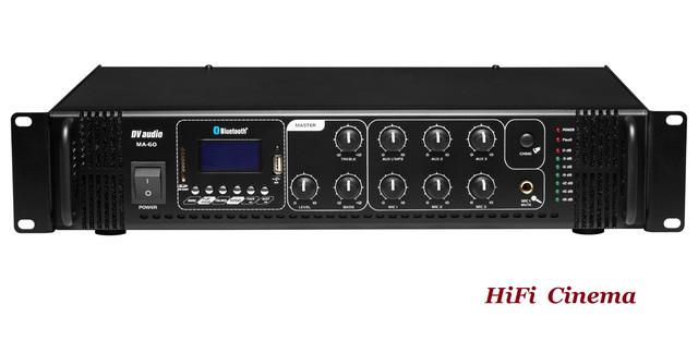 DV Audio MA-60 rear