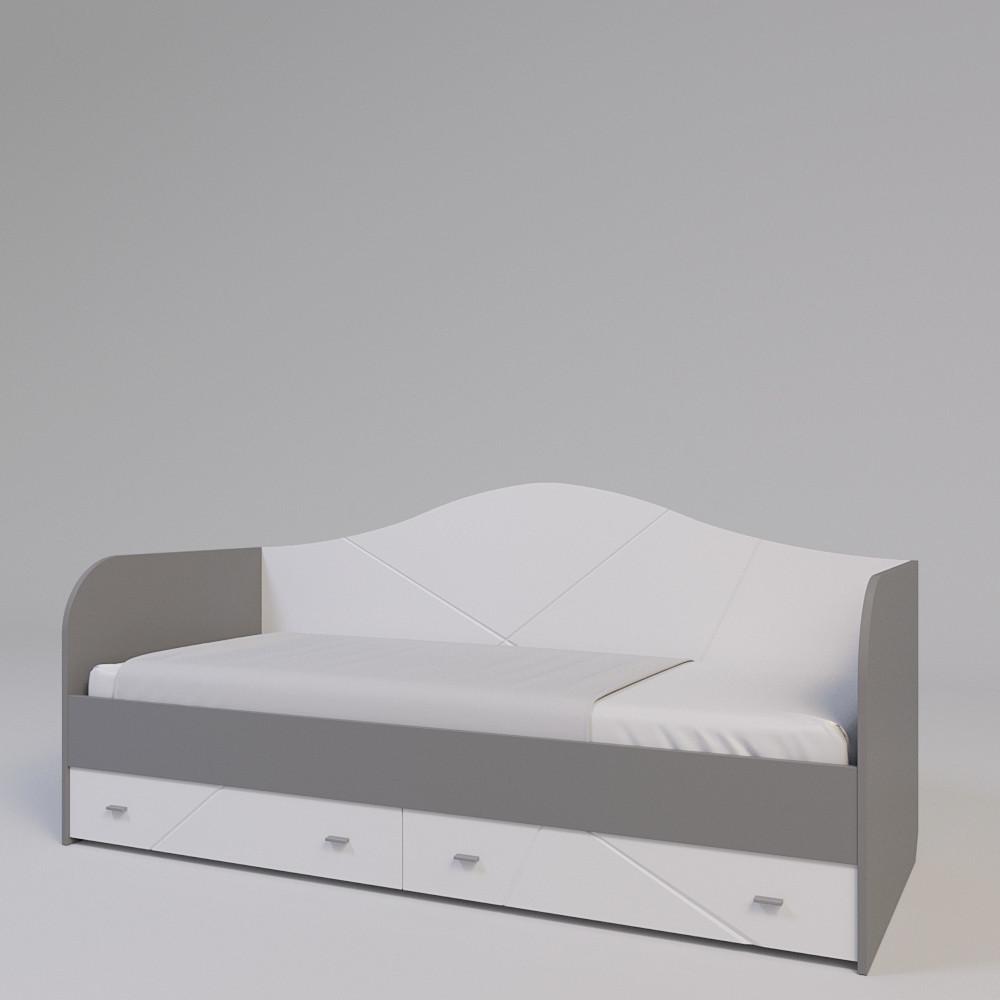 Ліжко-диван Х-Скаут Х-10 білий мат