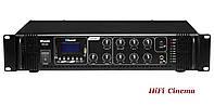 Трансляционный микшер-усилитель DV Audio MA-60 с USB FM-tuner Bluetooth 100В 60Вт, фото 1